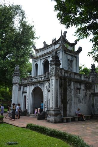 Hanoï, temple de la littérature.