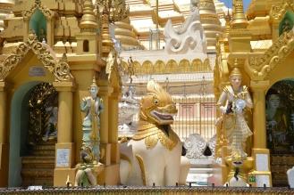 Rangoun, Shwedagon Pagoda.
