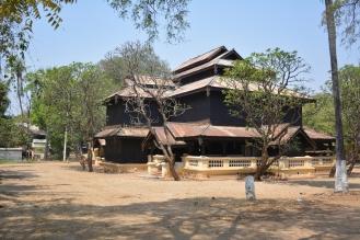 Bagan, monastère.